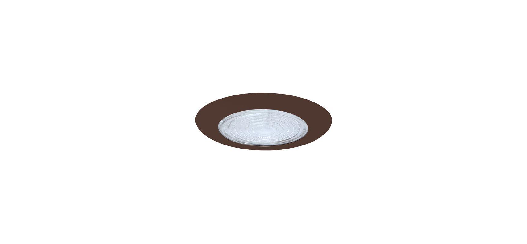 "Fresnel Glass Restoration Bath Light: Elco EL13BZ Bronze 6"" Shower Trim With Fresnel Lens"