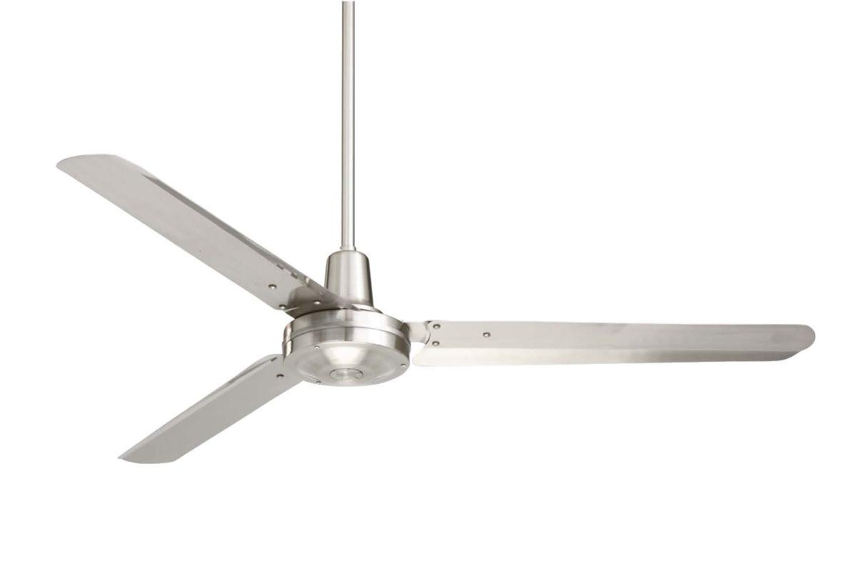 Industrial Fan Blades : Emerson hf bs brushed steel industrial heat fans quot