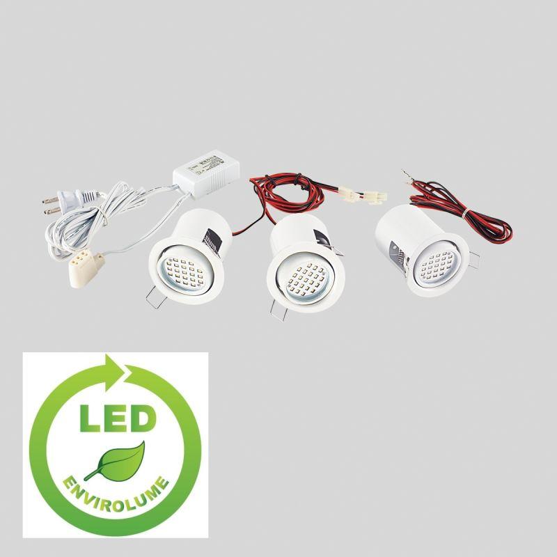 light mini led adjustable recessed downlight kit