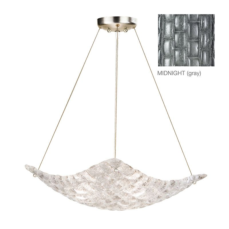 Art Glass Foyer Light : Fine art lamps st midnight grey glass