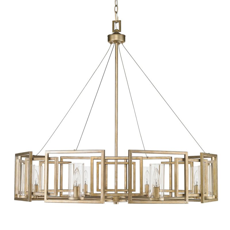 Clear Glass Chandeliers With Shades