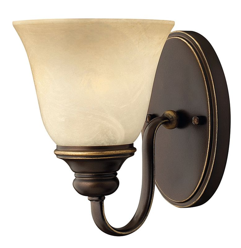 Hinkley Lighting 5450AT Antique Bronze 1 Light Indoor Wall Sconce from the Cello Collection ...