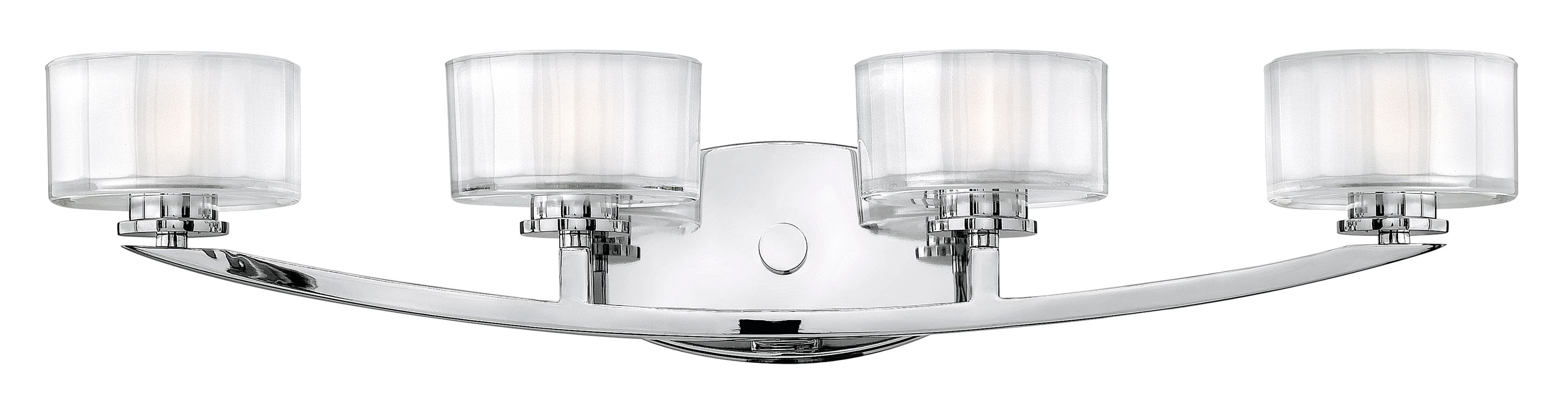 Can Vanity Lights Be Installed Upside Down : Hinkley Lighting 5594CM Chrome 4 Light 29