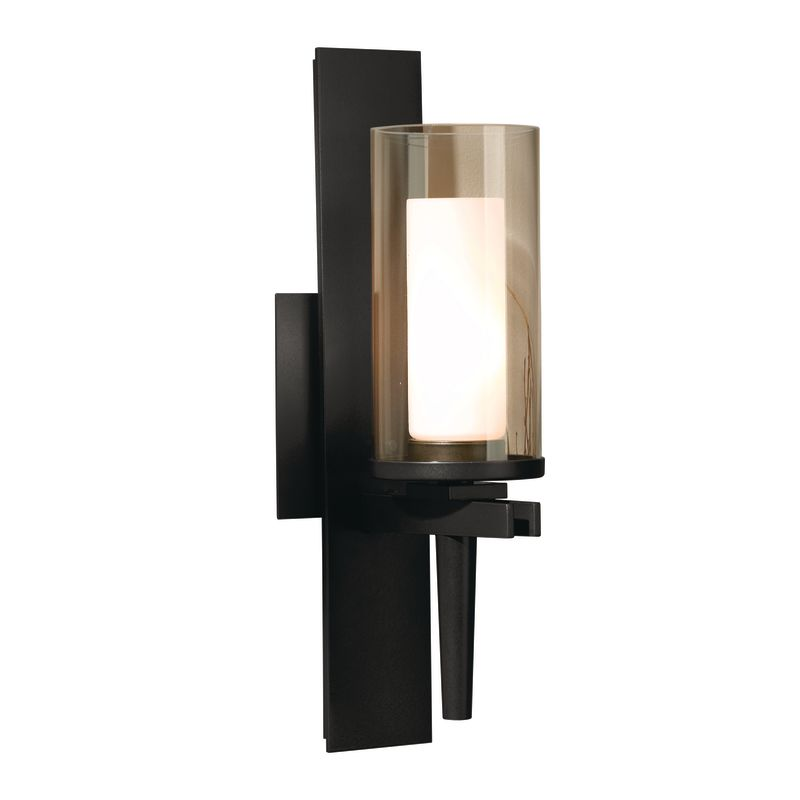 hubbardton forge 204301 10 black 1 light 60 watt direct wire up
