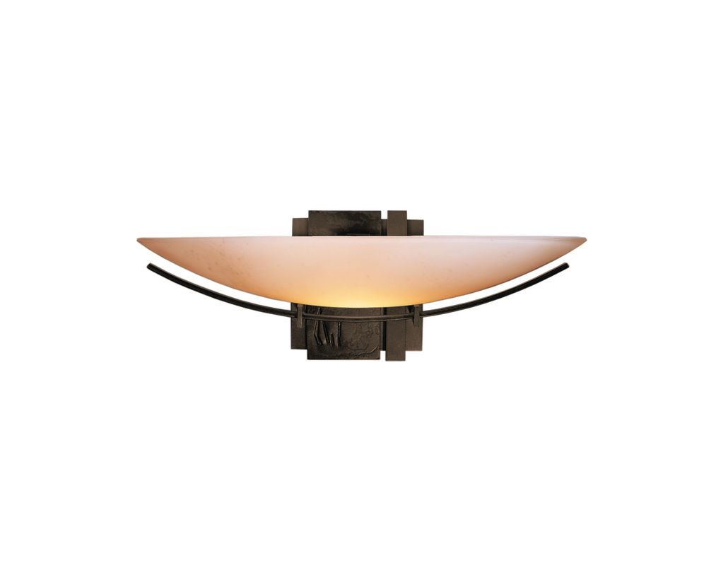 hubbardton forge 207370 05 bronze single light 100 watt direct wire