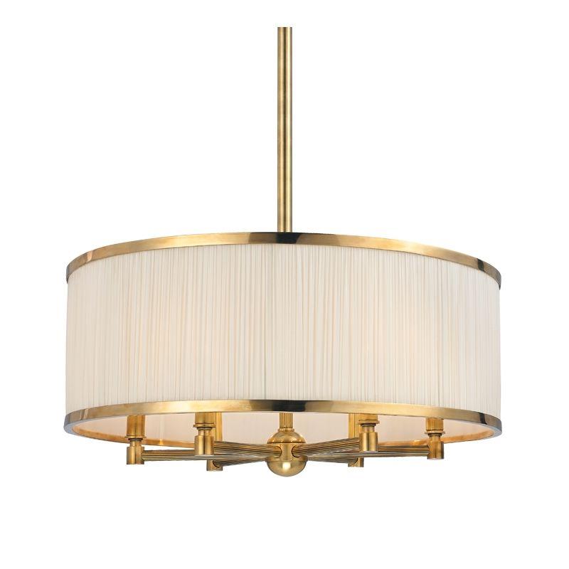 Hudson Valley Lighting Bulbs: Hudson Valley Lighting 5224-AGB Aged Brass Hastings 6