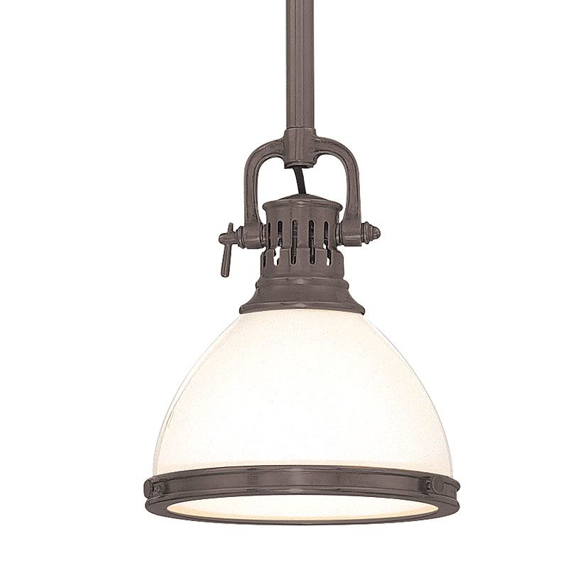 Hudson Valley Lighting 2621 AGB Aged Brass Randolph 1 Light Farmhouse Style M