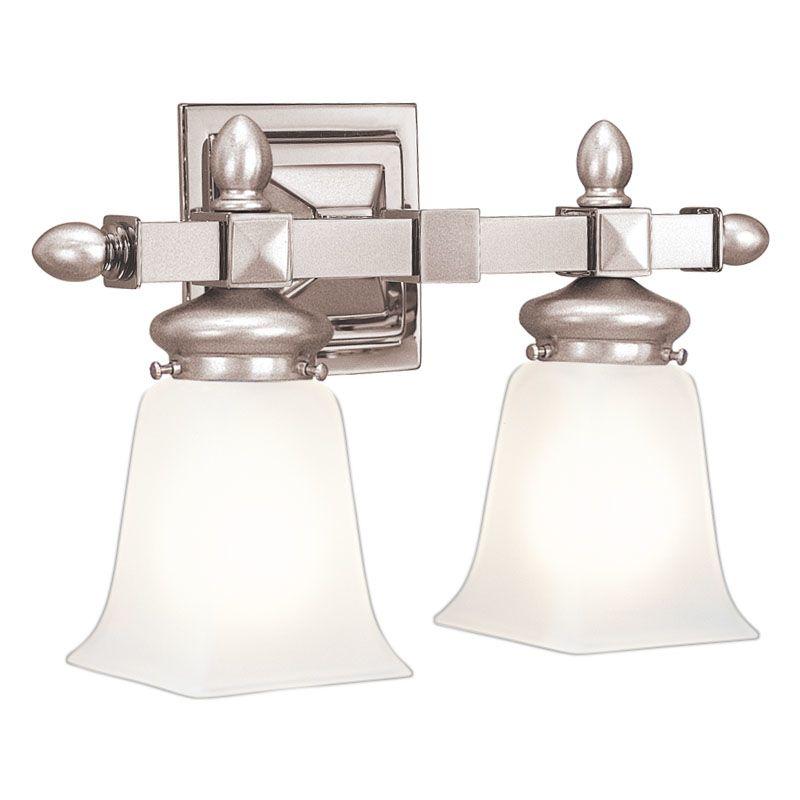 Hudson Valley Lighting Bulbs: Hudson Valley Lighting 2822-SN Satin Nickel Two Light 15