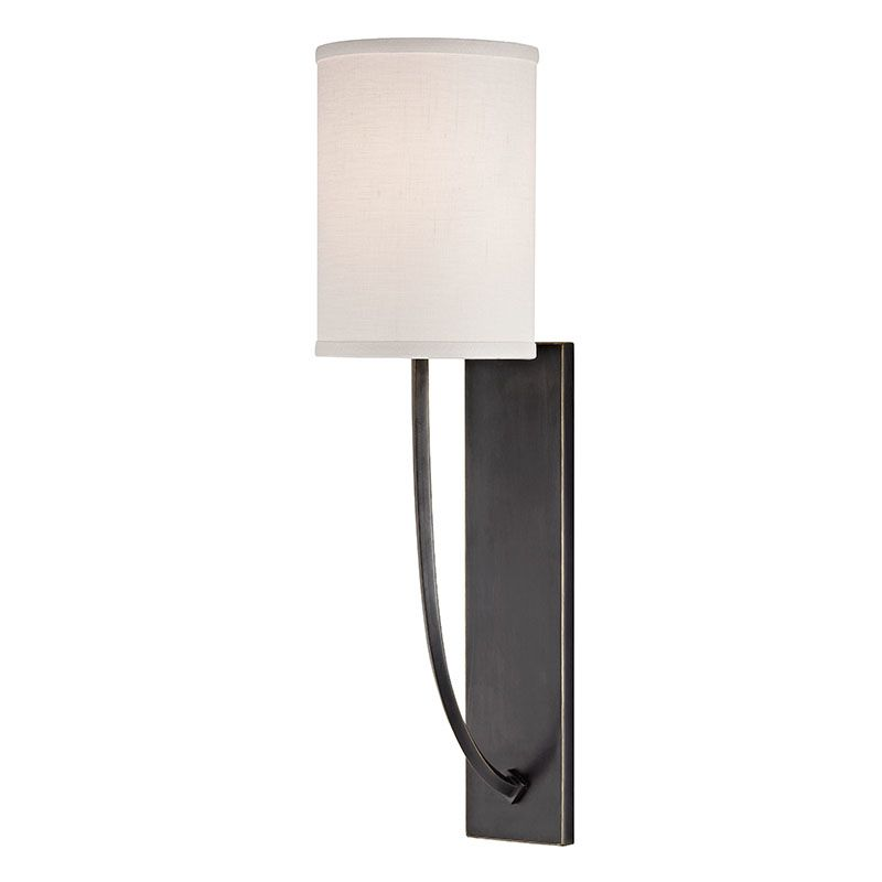 hudson valley lighting 731 ob old bronze colton 1 light wall sconce. Black Bedroom Furniture Sets. Home Design Ideas