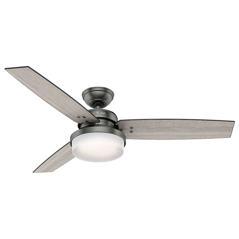 Hunter 59211 Brushed Slate 52 Indoor Ceiling Fan