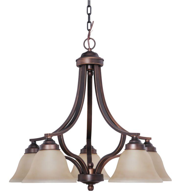 Jeremiah Lighting 9828MB5 Metropolitan Bronze Portia