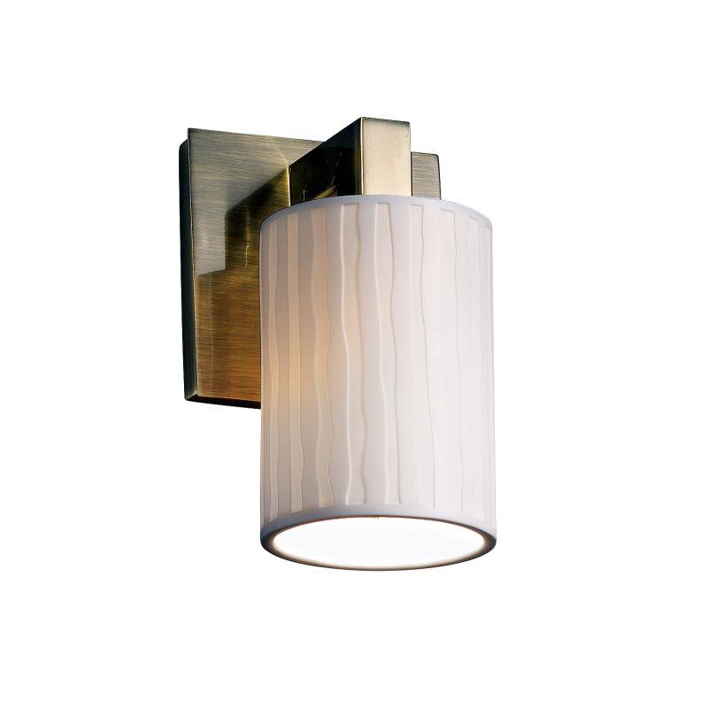 justice design group por 8921 10 wfal abrs antique brass. Black Bedroom Furniture Sets. Home Design Ideas