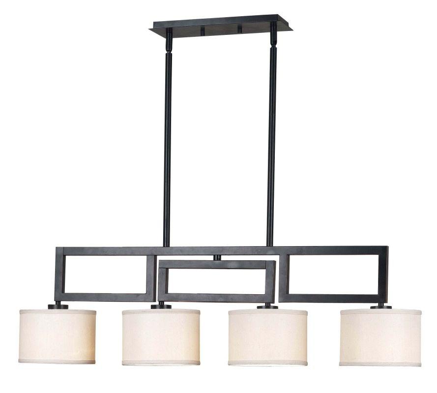 Kenroy Home Lighting Keen Bronze Pendant Light With Drum: Kenroy Home 10064ORB Oil Rubbed Bronze Endicott 4 Light 1
