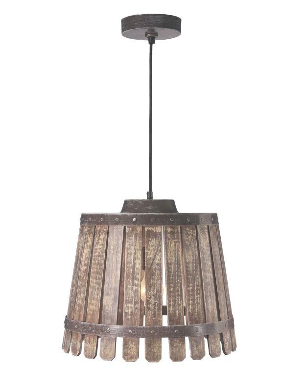 Kenroy Home 93125rubrz Rustic Bronze Bushel 1 Light