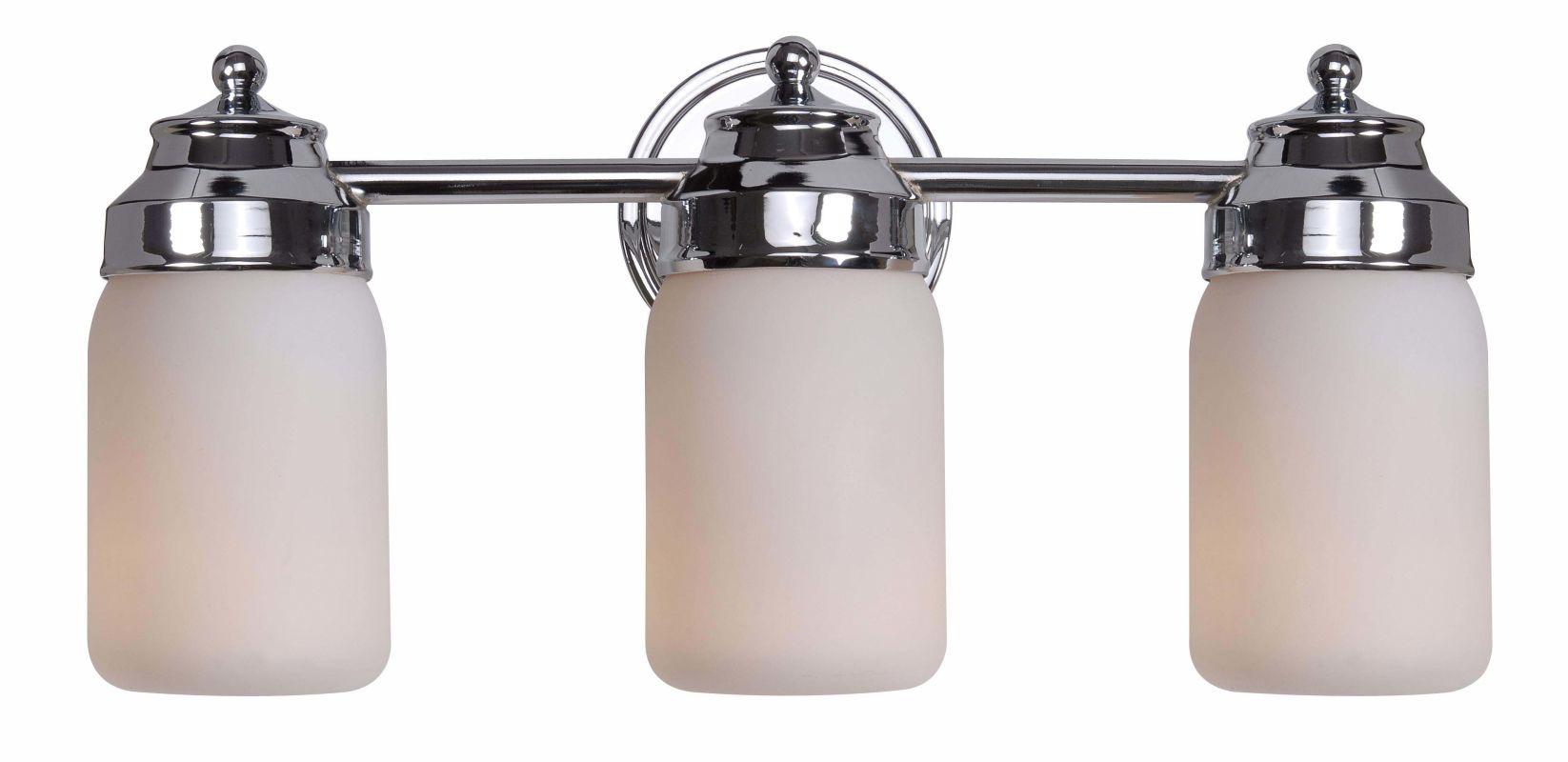 Kenroy Home 93463ch Chrome Midtown 3 Light Bathroom Vanity