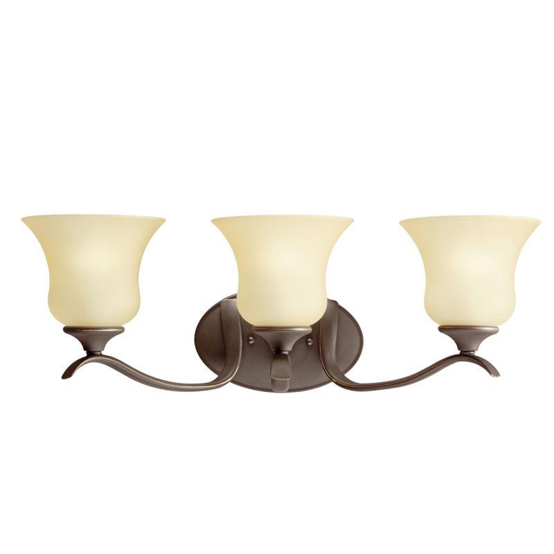 Kichler 10638oz Olde Bronze Wedgeport 23 5 Quot Wide 3 Bulb