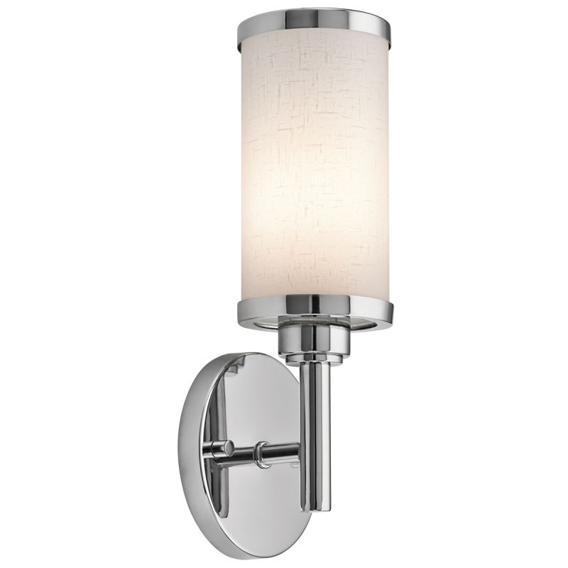 Wall Bracket Lamp Hinge : Kichler 10680CH Chrome ADA 1 Light Fluorescent Wall Sconce - LightingDirect.com