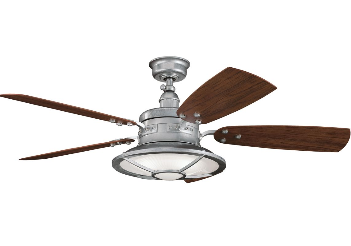 Ceiling Fan Remote Instructionsharbor Breeze Wiring Outdoor Diagram Kichler 310102gst Galvanized Steel 44 Quot