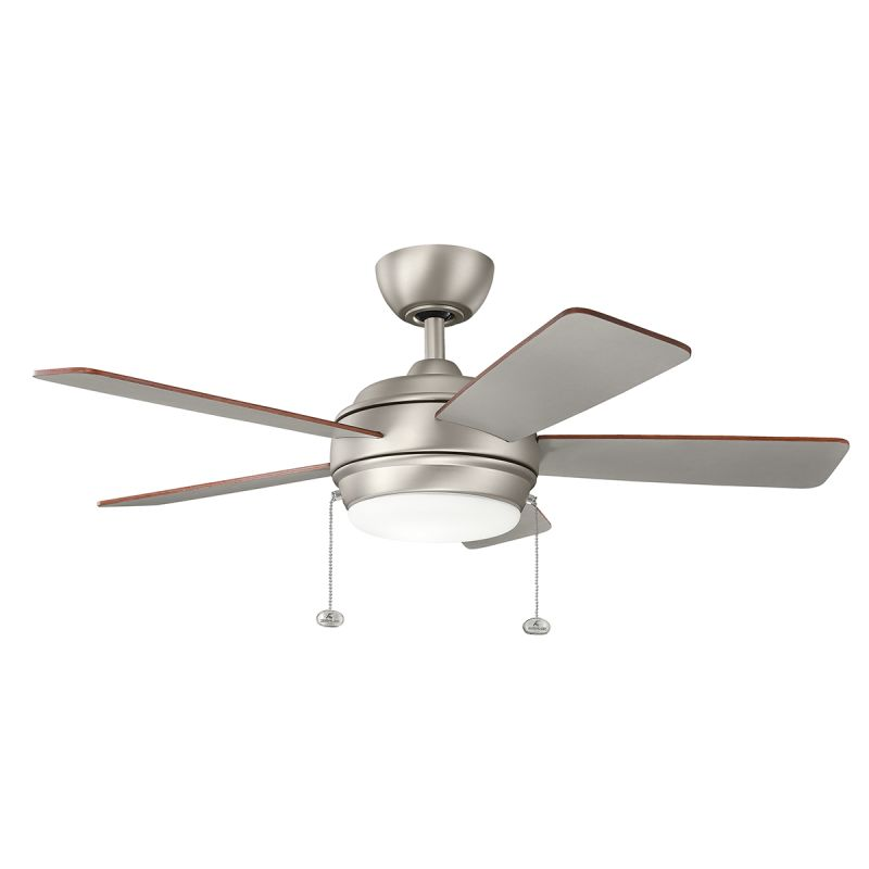 Kichler 330171ni Brushed Nickel 42 Quot Indoor Led Ceiling Fan