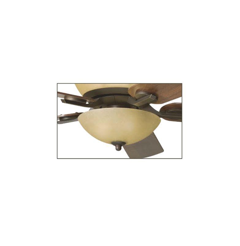 Kichler 380000OZ Olde Bronze Olympia 3 Light Bowl Fan