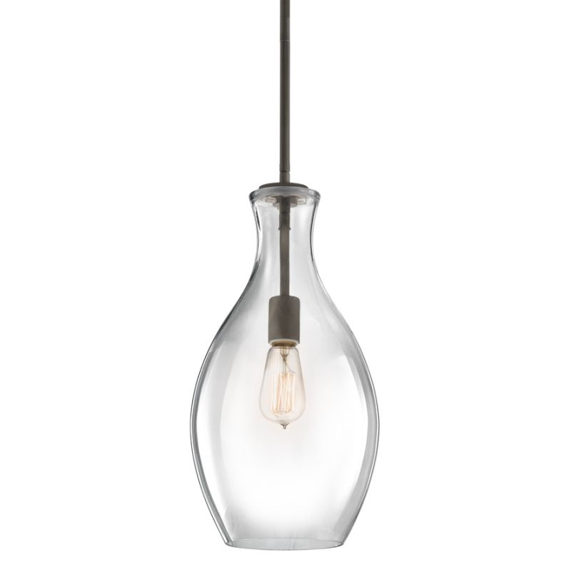 Pendant Light Suitable For Bathroom : Kichler oz olde bronze everly single light quot wide
