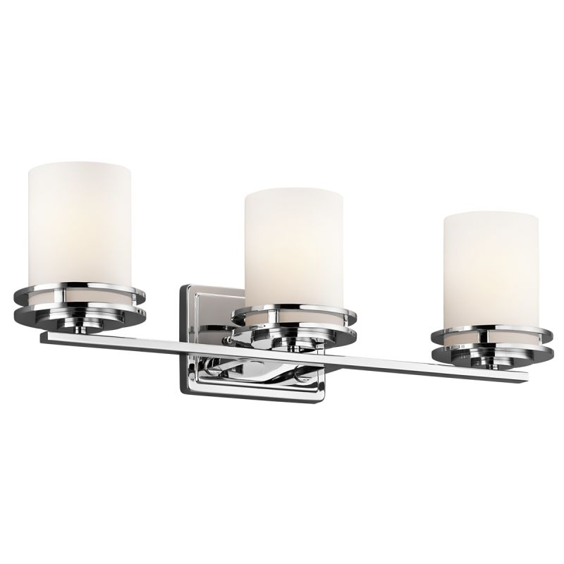 Kichler 5078ch Chrome Hendrik 3 Light 24 Wide Vanity