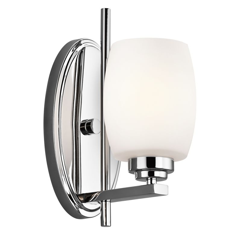 Kichler 5096ch Chrome Eileen Single Light 11 Tall