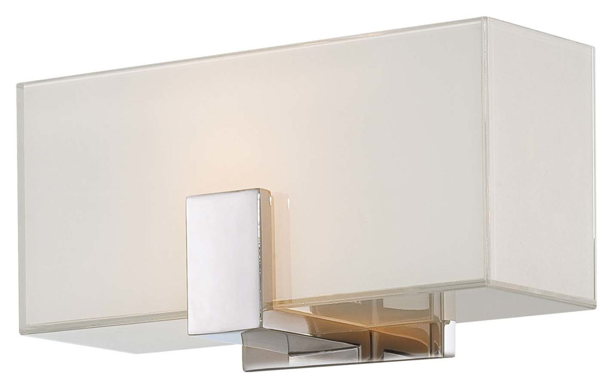 Wall Sconce Mounting Height Ada : Kovacs P5220-613 Polished Nickel 1 Light ADA Wall Sconce - LightingDirect.com
