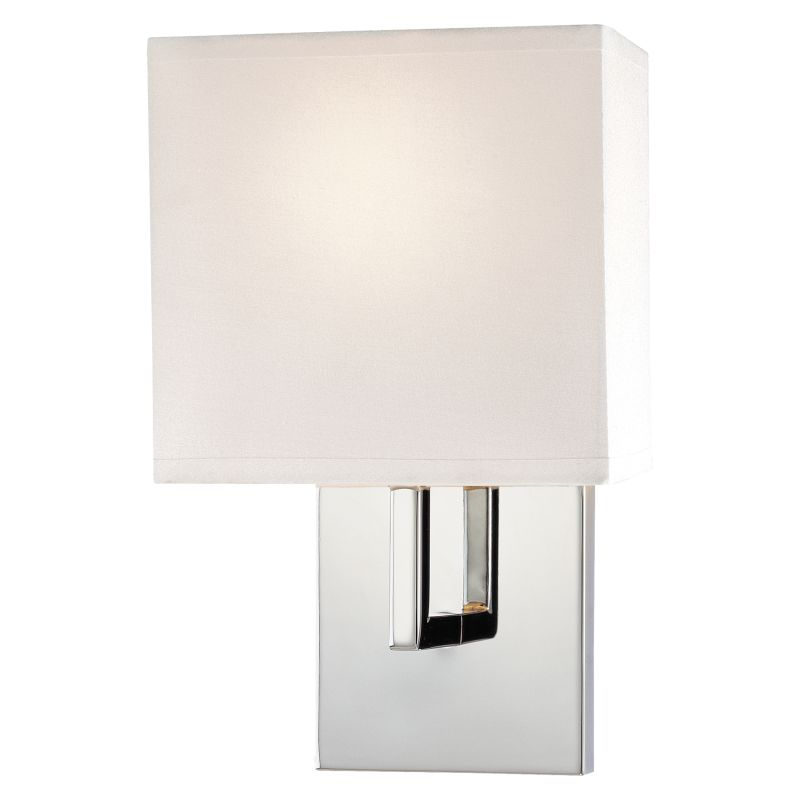 What Height Wall Sconces : Kovacs P470-077 Chrome 1 Light 11.25