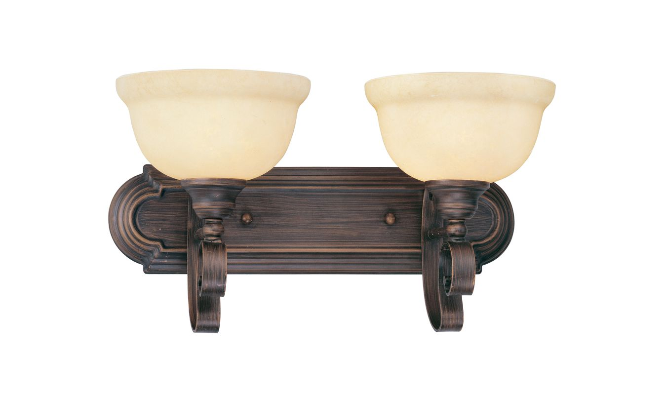 Livex Lighting Two Eight Imperial Bronze Manchester Two Light Bathroom Vanity Light Lightingdirect Com