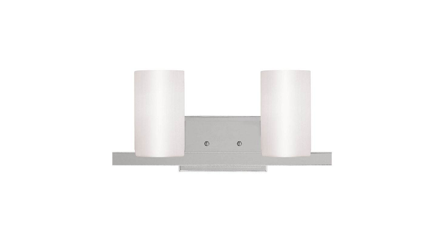 Can Vanity Lights Be Installed Upside Down : Livex Lighting 1332-05 Chrome Astoria 2 Light Bathroom Vanity Light - LightingDirect.com