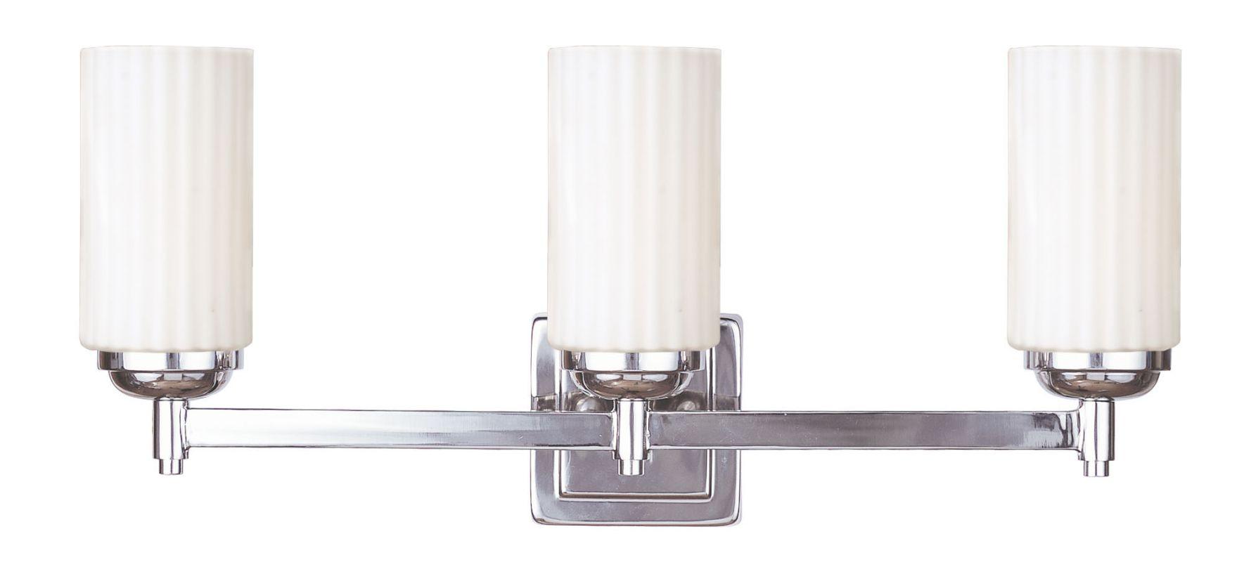 Livex Lighting 1423-35 Polished Nickel Madison 3 Light