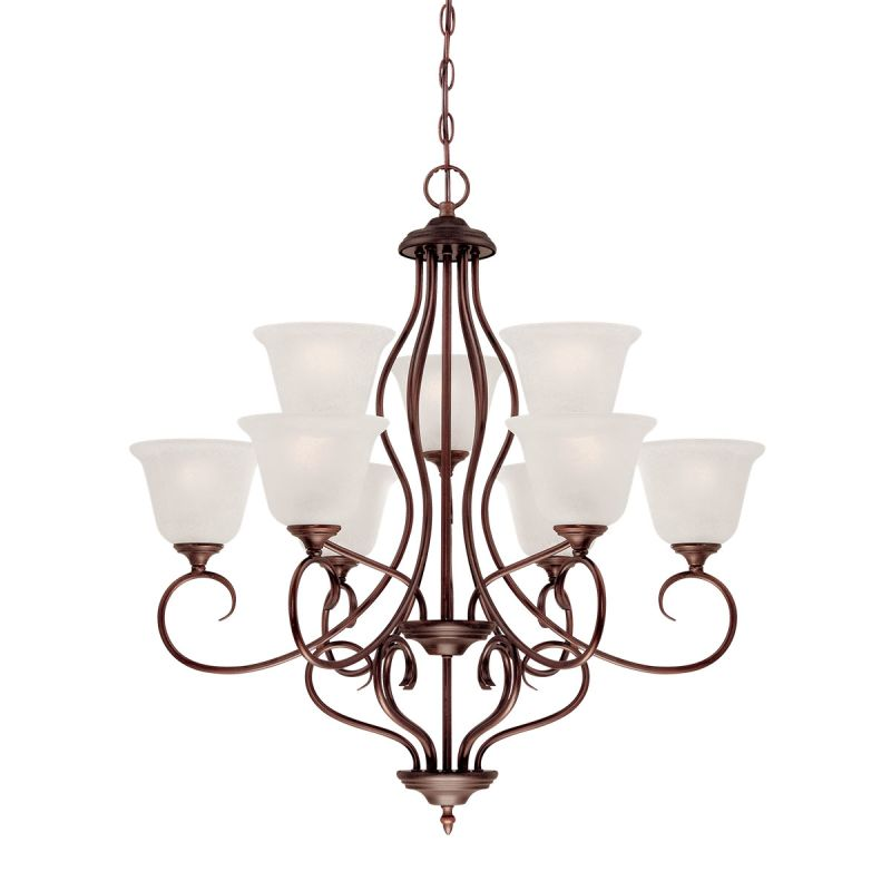 Lighting Cleveland: Millennium Lighting 1529-RBZ Rubbed Bronze Cleveland 9