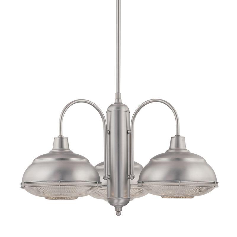millennium lighting 5333 sn satin nickel neo industrial 3 light single. Black Bedroom Furniture Sets. Home Design Ideas