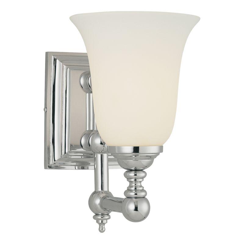 Minka Lavery 3221 77 Chrome 1 Light 10 Height Bathroom