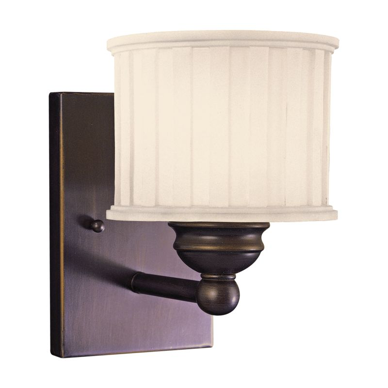 Wall Sconce Height Bathroom : Minka Lavery 6731-167 Lathan Bronze 1 Light 8.5