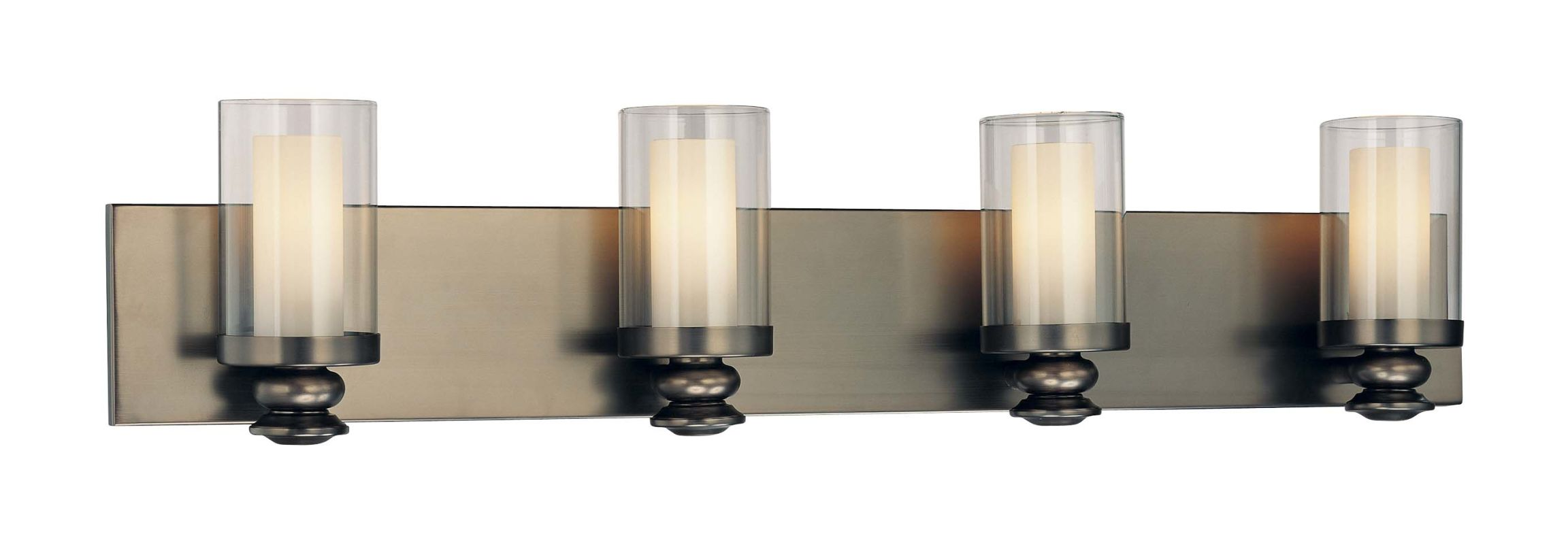 Minka Lavery 6364-281 Harvard Ct. Bronze 4 Light ADA Compliant Bathroom Vanity Light from the ...