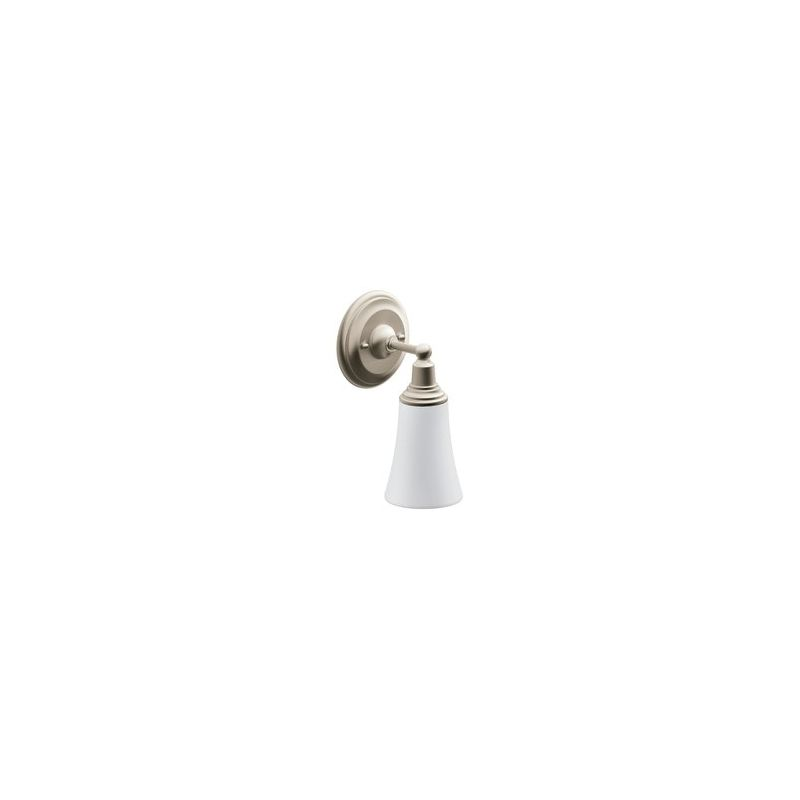 Moen Brushed Nickel Vanity Lights : Moen YB8261BN Brushed Nickel 5.35