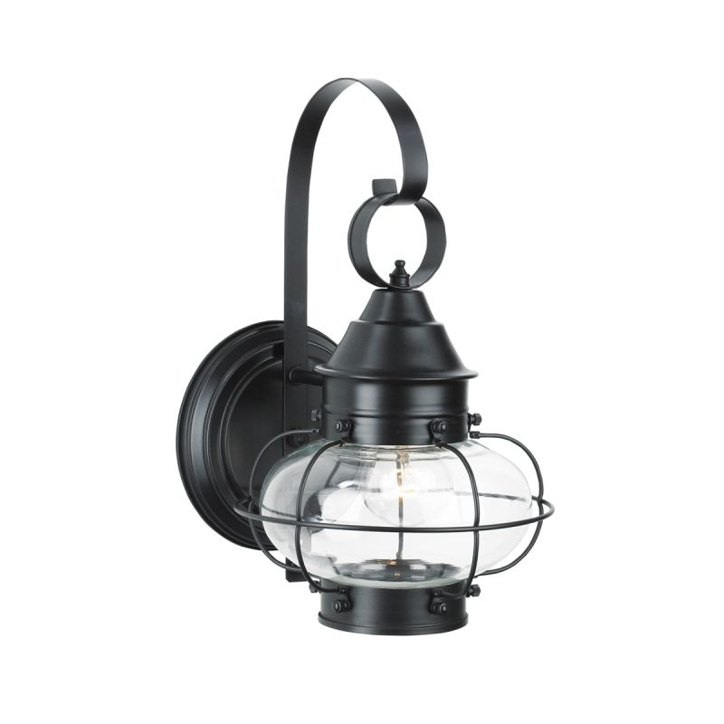 Norwell Lighting 1323 Bl Cl Black With Clear Glass Cottage