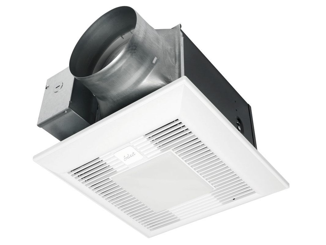Panasonic Fv 11 15vkl1 White 150 Cfm 0 3 Sone Ceiling Mounted Customizable Bath Fan With Light