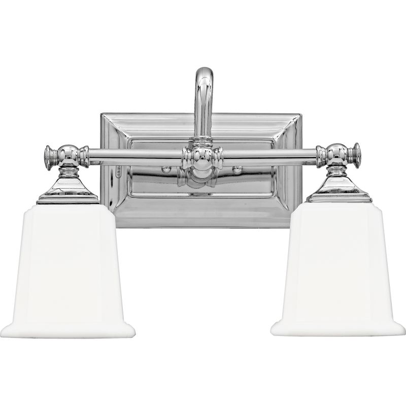 Bathroom Vanity Lights Facing Up Or Down : Quoizel NL8602C Polished Chrome Nicholas 2 Light 15