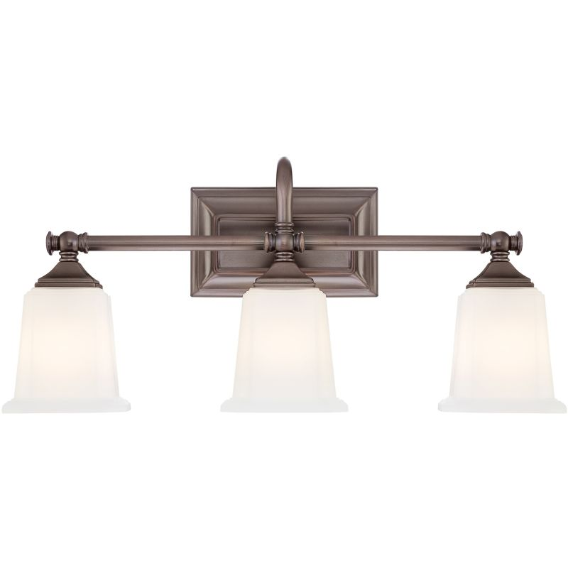 Quoizel Bathroom Vanity Lights : Quoizel NL8603HO Harbor Bronze Nicholas 3 Light 22