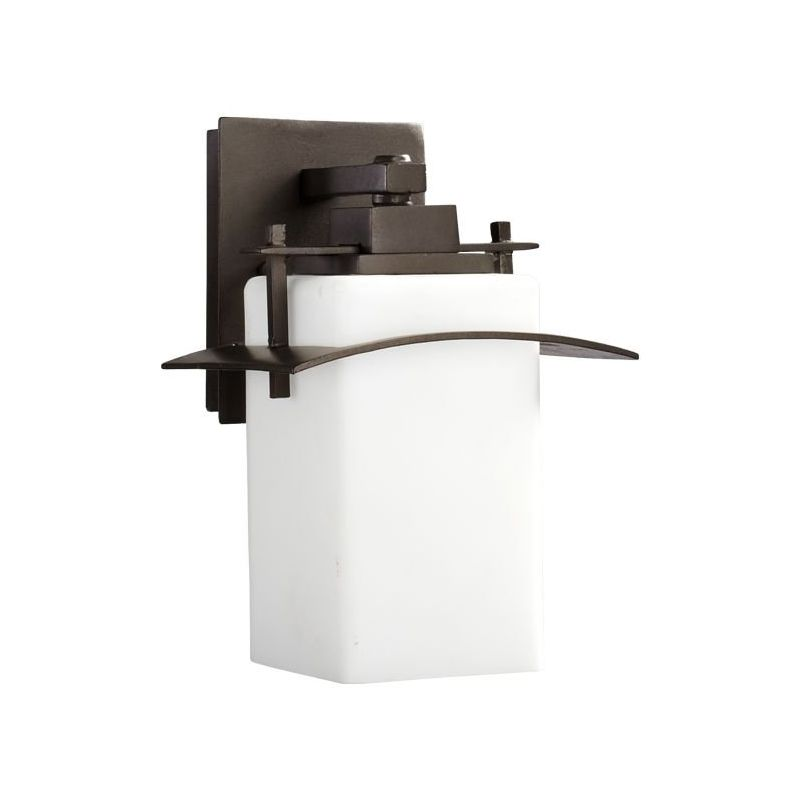 Wall Sconces At Kirklands : Quorum International 7200-8-86 Oiled Bronze Kirkland 1 Light Outdoor Wall Sconce ...
