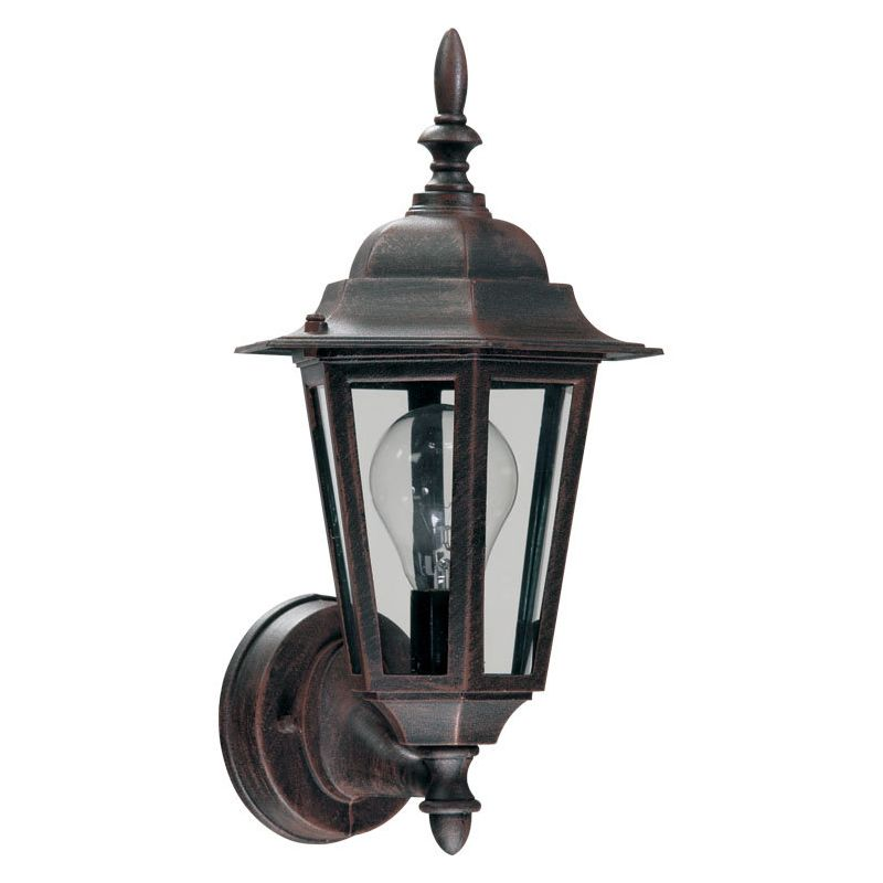 Quorum Track Lighting: Quorum International 790-5 Rust 1 Light Outdoor Wall