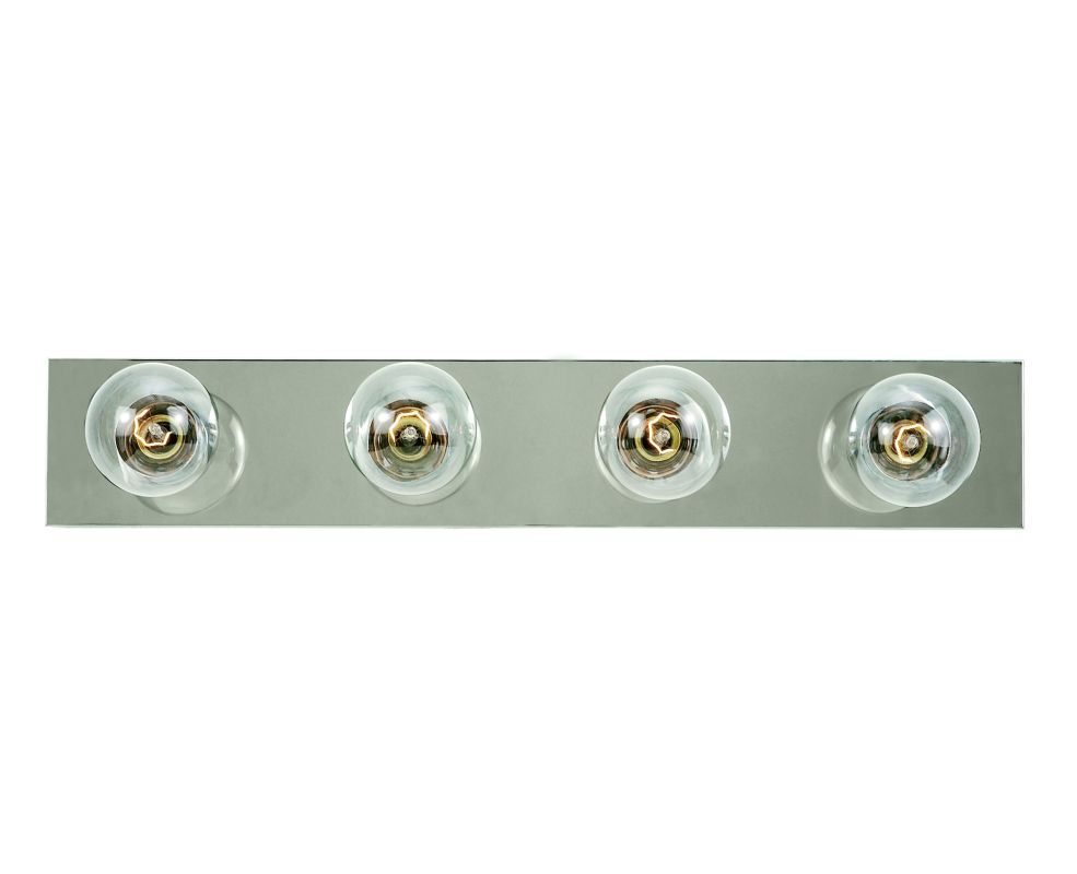 """Savoy House 87117-CH Chrome Functional 4 Light 24"""" Wide"""