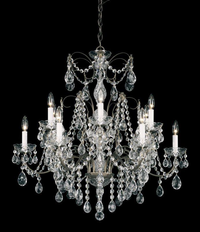 """Schonbek Chandelier Wayfair: Schonbek 1596-23 Etruscan Gold 30"""" Wide 12 Light Candle"""