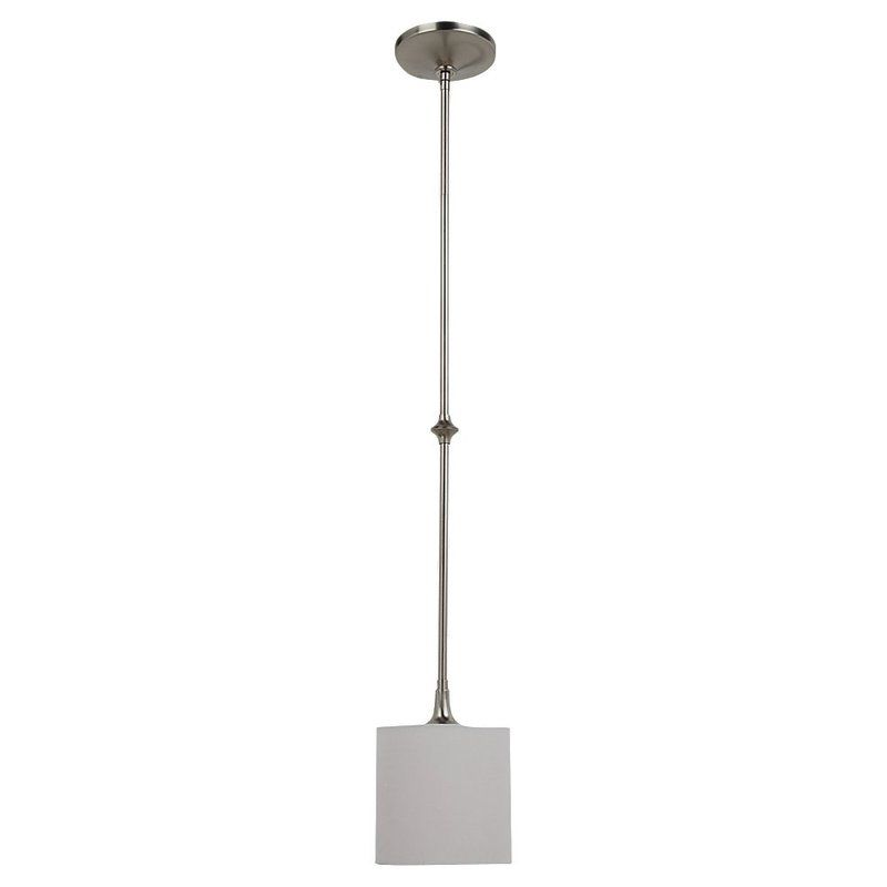 Sea Gull Lighting 61952 962 Brushed Nickel Stirling 1 Light Mini Pendant Li