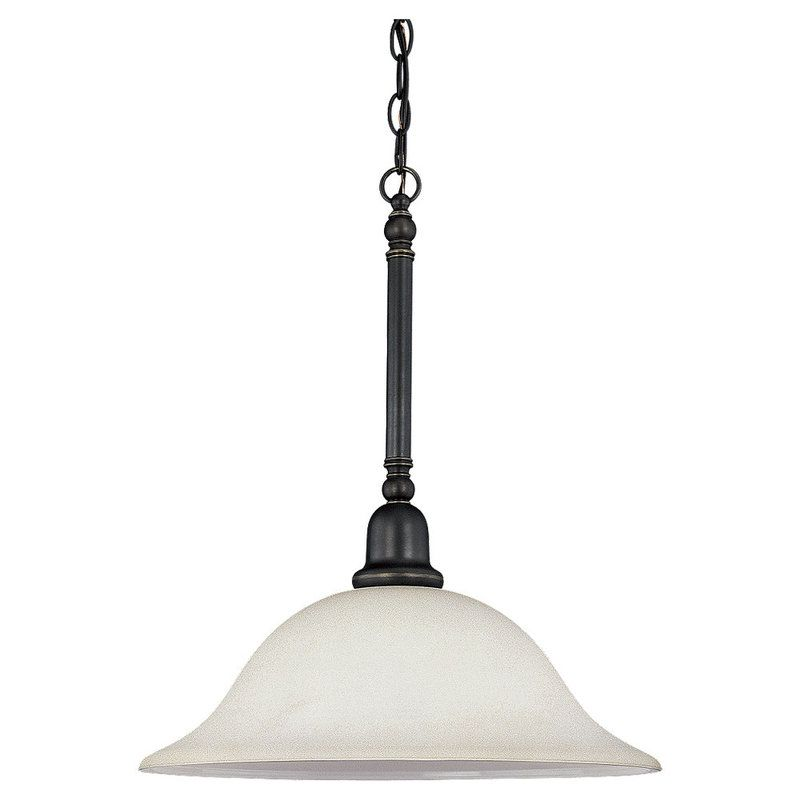 sea gull lighting 66060 782 heirloom bronze sussex 1 light full sized. Black Bedroom Furniture Sets. Home Design Ideas