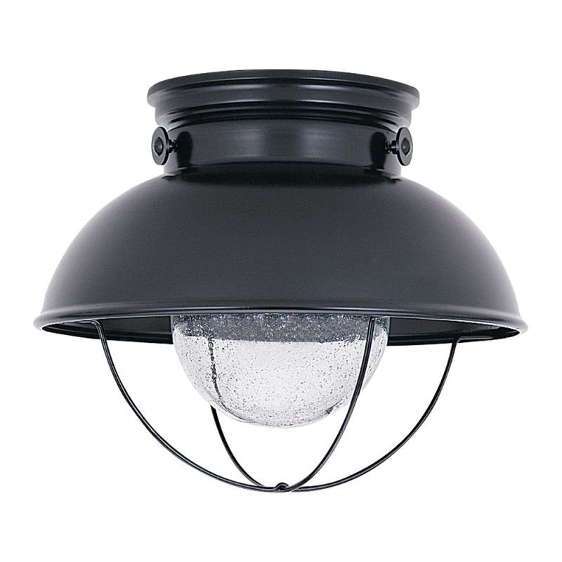 Sea Gull Lighting Products: Sea Gull Lighting 886991S-12 Black Sebring Outdoor LED