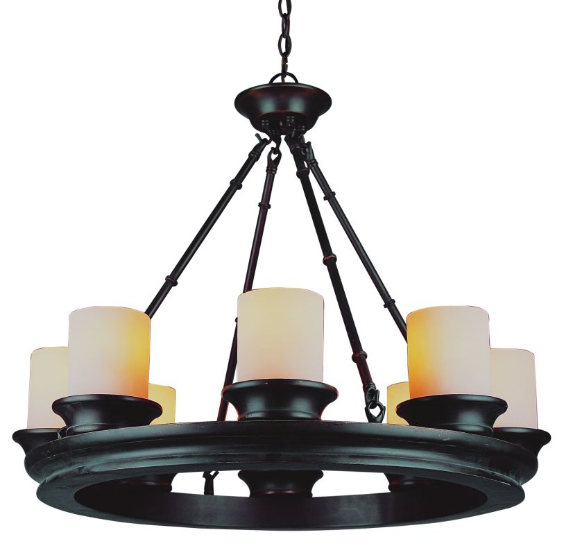 Trans Globe Lighting 3368 ROB Rubbed Oil Bronze Eight
